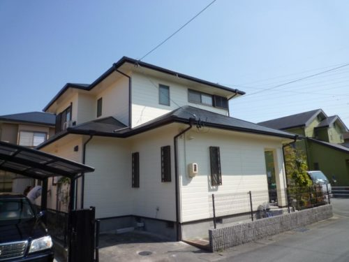 松阪市辻原様邸 外部塗装工事