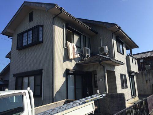 松阪市宝塚町 O様邸 外壁・屋根塗装工事