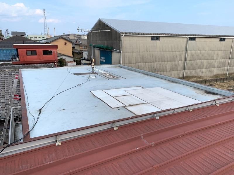 屋上防水下地工事