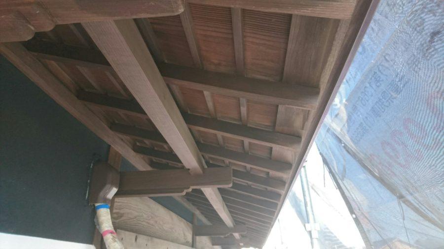 外壁・軒天塗装工事