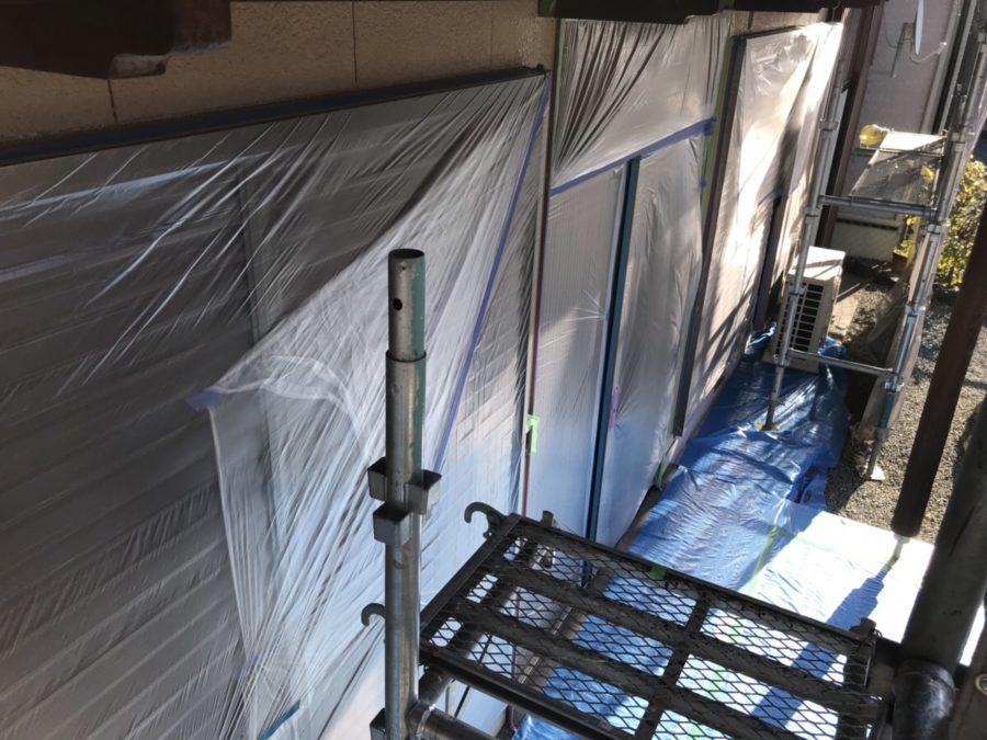 外壁塗装工事③