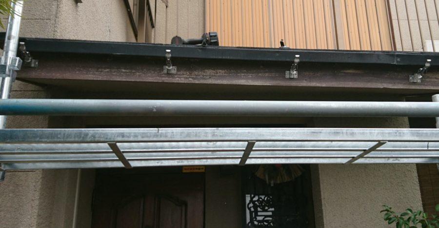 これで雨が降っても安心!雨樋掛替え工事。