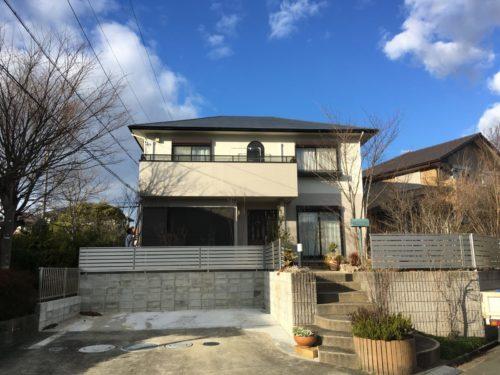 松阪市K様邸、外装リフォーム工事