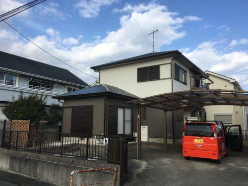 松阪市H様邸、外装リフォーム工事