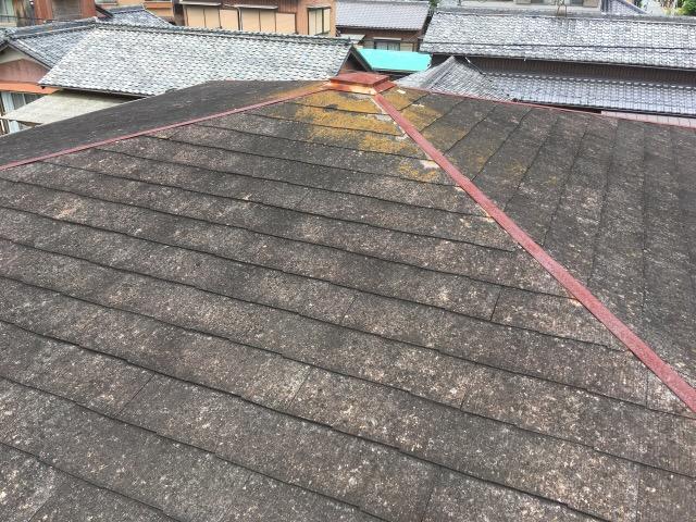 築30年。スレート屋根の限界